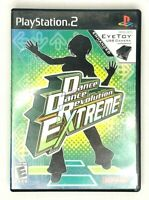 Dance Dance Revolution Extreme 2 (Sony PS2 & Eye Toy) CIB - Tested & Working