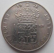 SWEDEN 1 KRONA 1972