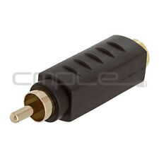 S-Video S-VHS 4Pin Jack to RCA Plug Video Adapter Adaptor