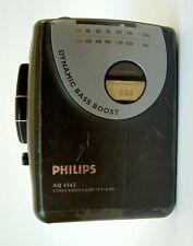 Vintage Philips Walkman AQ6562 Radio Cassette Player Working Condition Rare