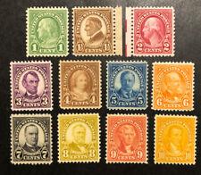 TDStamps: US Stamps Scott#632-634, 635-642 (11) Mint NH OG