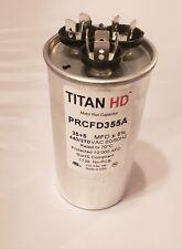 TITAN HD ROUND RUN CAPACITOR PRCFD355A 35/5 440  HVAC MADE IN USA