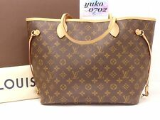 z5333 Auth LOUIS VUITTON Monogram CA4124 Neverfull MM Mimosa Tote Bag M40997