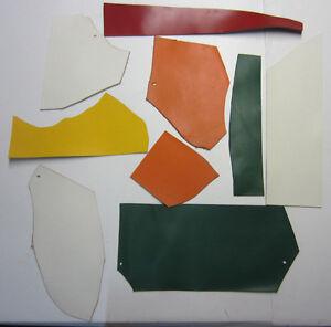 CM908 1 Kgr Pelle Ritagli Pinza Colori Diversi