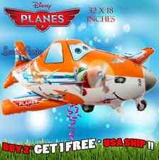 "32"" Disney Pixar Planes Happy Birthday Party Balloon * Dusty Crophopper Cars"