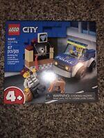 NEW LEGO City Police Dog Unit 60241 67 Piece Building Set Toy FREE SHIPPING