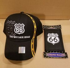 motorcycle  hat and wallet