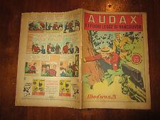 WALT DISNEY ALBO D'ORO N°28 AUDAX E I FUORILEGGE DI VANCOUVER 16-11-1946