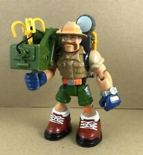 "Fisher Price Rescue Heroes Mattel Aussie Explorer Action Figure Toy 6"" Tall"