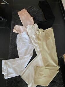 6 x Hosen RICH & ROYAL ST. EMILE BETTY BARCLAY H&M Beige rose schwarz weiss