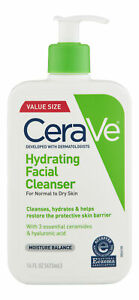 CeraVe Hydrating Cleanser 16 oz. Facial Cleanser