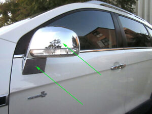4 Pcs chrome side mirror covers protector for Holden Captiva 7 CG CGII 2006-2018