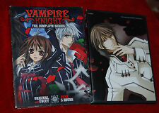 Vampire Knight: The Complete Series (DVD, 2011, 2-Disc Set) Eps 1-13 USED ANIME