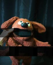 Vintage 1977 Fisher Price Rowlf Hand Puppet Plush Jim Henson Muppet Doll 852 16""