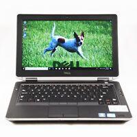 DELL Latitude E6330 Core i5-3320m 2.6GHz 8GB RAM 120GB SSD Windows 10 Pro