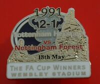 Danbury Pin Badge Tottenham Hotspur Football Club FA Cup Winners 1991 Spurs