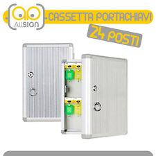 CASSETTA PORTACHIAVI 24 GANCI condominio arredo armadio casa chiavi oggetti box