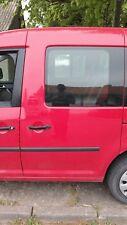 VW Caddy III 3 hintere Fahrertür hinten links hl Seitentür Tornadorot LY3D door