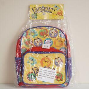 1997 Vintage Pokemon Back Pack and Cooler Bag Official Product - ORIGINAL PACK