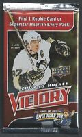 2009-10 Upper Deck Victory Hockey Lot Of 36 Foil Packs