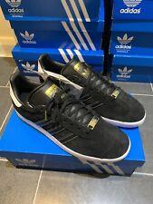 Adidas OG Gazelle Ltd Ed Black Gold CW UK 9.5 Eu 44 City EG4908 Super New Indoor