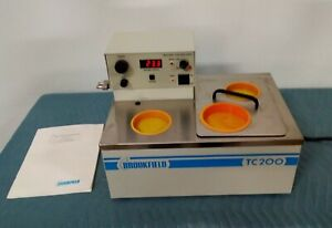 Brookfield Heated Water Recirculator Constant Temperature Bath Part Model TC-200