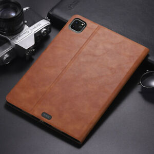 For iPad 5 6 7 8th Pro Air 1 2 3 4 Mini 1 2 3 4 5 Brief Leather Stand Case Cover