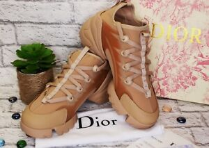 Dior D connect Nude sneakers New in box