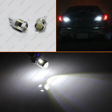 White High Power 5W T10 LED Bulbs for Car Backup Reverse Lights 912 921