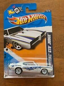 Hot Wheels - 69 Pontiac GTO Judge - HW Mainstreet '12 - White