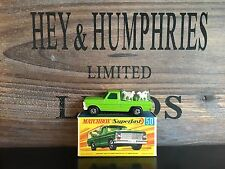 MATCHBOX Superfast No. 50a-9. very RARE versione V.N. MINT OVP excellent 1970/73