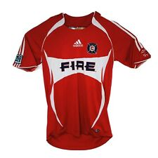 Adidas Mens Small MLS Chicago Fire 2006 Red Jersey Number 3