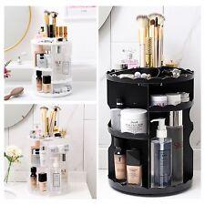 Makeup Shelf Cosmetic Rack Holder 360 Degree Rotating Organizer Storage Box Case