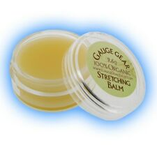 Gauge Gear Ear Stretching Aftercare Natural Balm Organic Stretched Ear