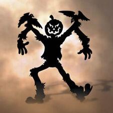 "**NEW** Halloween Lawn Art Yard Shadow/Silhouette - ""Jack O' Scarecrow"" 62""x48"""