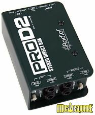 Radial ProD2 Passive Stereo Direct Box Bass/Guitar/Synth ProDI 2 - MAKE OFFER!!!