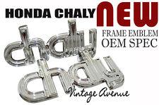 HONDA CHALY CF50 CF70 FRAME EMBLEM 1PAIR [KC]
