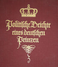 Anonymus-Politische Beichte eines Deutschen Prinzen-Weicher, Leipzig
