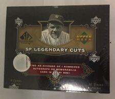 2007 Upper Deck SP Legendary Cuts Factory Sealed Baseball Hobby Box