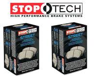 Stoptech Street Front + Rear Brake Pads 2007-2013 Mazda Mazdaspeed 3 Turbo Volvo