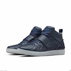 NikeLab Tiempo Vetta Midnight Navy Blue Sneakers 840482-400 Size UK 7.5 EUR 42