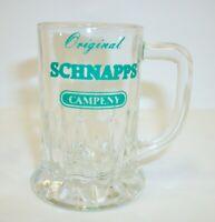 Vintage Schnapp's Campeny Advertising Shot Glass Stein
