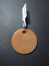 Pendentif Thomas Sabo disque aventurine rouge, argent neuf PE429-010-10