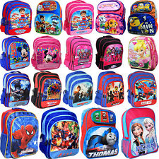 NEW LARGE KIDS BACKPACK SCHOOL BAG BOYS GIRLS PAW PATROL FROZEN MINNIE POKEMON