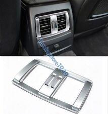 Matt Chrome Armrest box Rear Vent Frame Trim cover BMW 1 3 4 Series F30 F20 F36