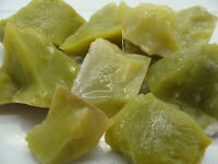 LEMON JADE Rough Rocks - 1 Lb Lots - Tumbling, Crafts Cabbing, NICE Lapidary
