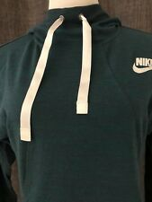 Nike Hoodie Pullover Green Sz Small