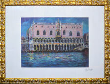 Litografia a colori Giovan Francesco Gonzaga 65x85 cm (Quadro dipinto opera).