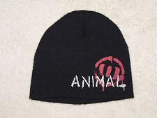 Animal surf / skate / snow black beanie hat - new !! kids