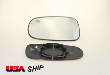 Driver Side mirror glass Heated W/Holder FOR Saab 9-3 93 9-5 95 2003-2008 NEW